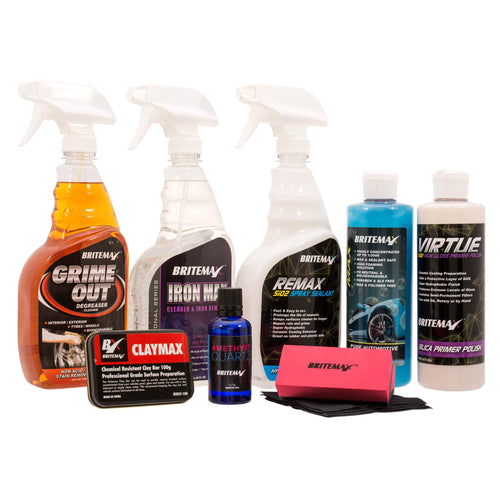 Britemax AMETHYST QUARTZ Ceramic Car Coating Detailing Kit