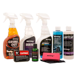 Britemax IGNEOUS QUARTZ Ceramic Car Coating Detailers Kit