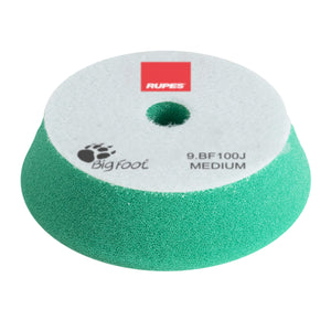 Rupes BF100J Foam Random Orbital Pad Green Medium