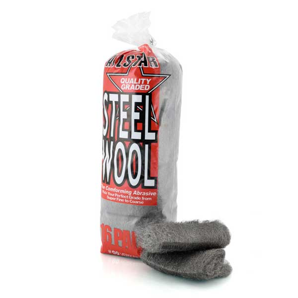 Allstar Steel Wool Pads #00 Very Fine