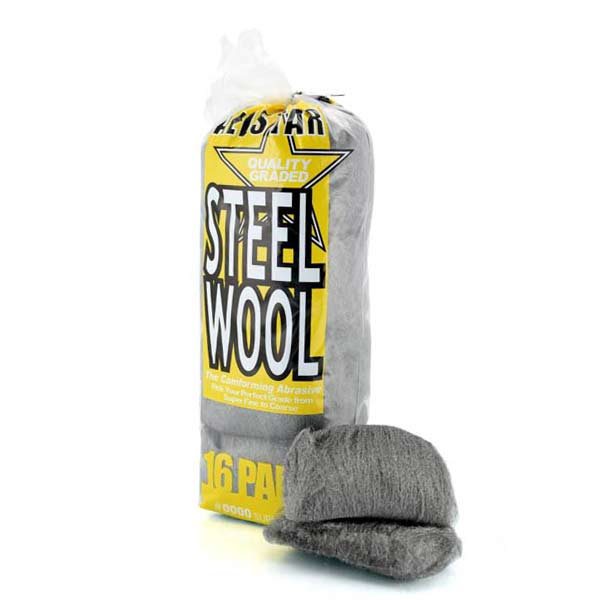 Allstar Steel Wool Pads #0000 Super Fine