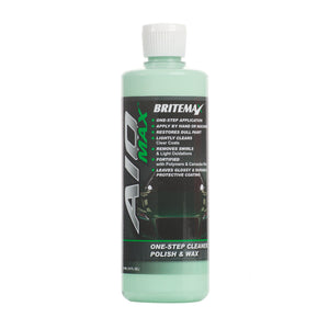 Britemax AIO Max One Step Cleaner, Polish and Polymer Wax