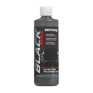 "Britemax Black Max Car Finishing Polish. Britemax Black Max provides a high gloss wet-look finish known in the automotive industry as ""Piano Black"""