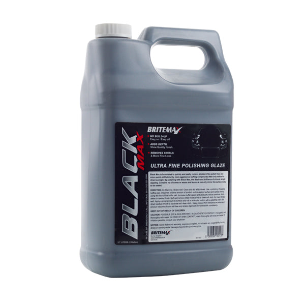 Britemax Black Max Car Finishing Polish. Britemax Black Max provides a high gloss wet-look finish known in the automotive industry as