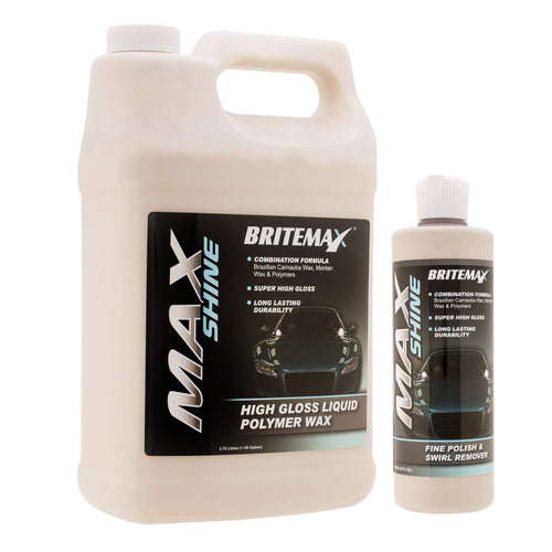 Britemax Max Shine High Gloss Liquid Car Wax
