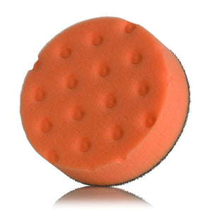 "Lake Country CCS 4"" Spot Foam Buffing Pads Orange"