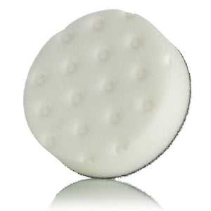 "Lake Country CCS 4"" Spot Foam Buffing Pads White"