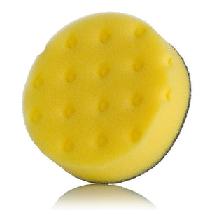 "Lake Country CCS 4"" Spot Foam Buffing Pads Yellow"