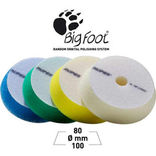 Load image into Gallery viewer, Rupes Bigfoot 100mm 4 Inch Foam Spot Pads Group