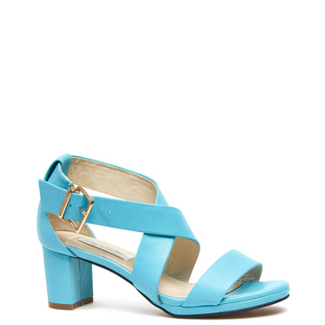 Kathryn Wilson - Olympia Sandal Turquoise