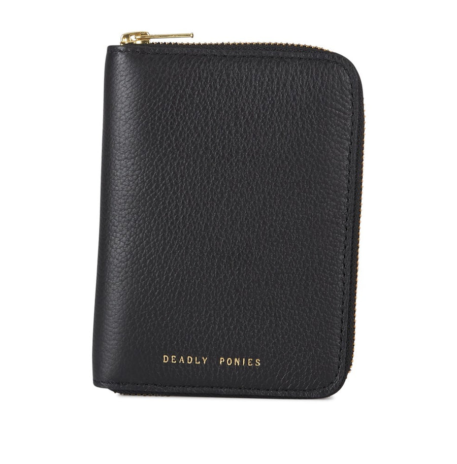 Deadly Ponies - Passport Wallet Black