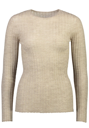 Standard Issue - Merino Tulle Crew Oatmeal
