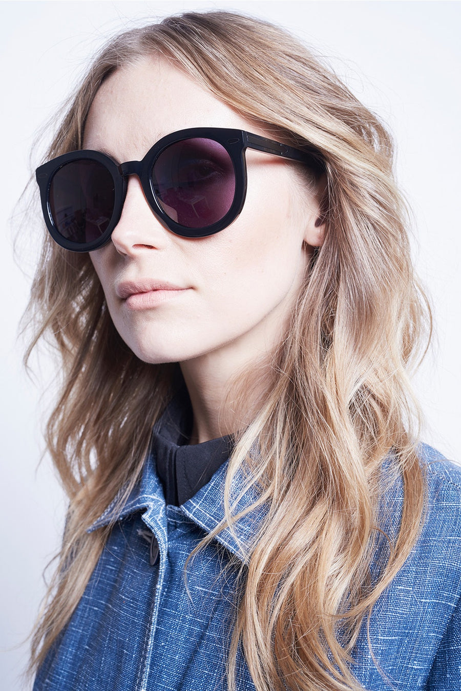 Karen Walker Eyewear - Super Duper Strength Black