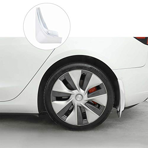 BASENOR Model 3 Mud Flaps Splash Guards(Set of Four)