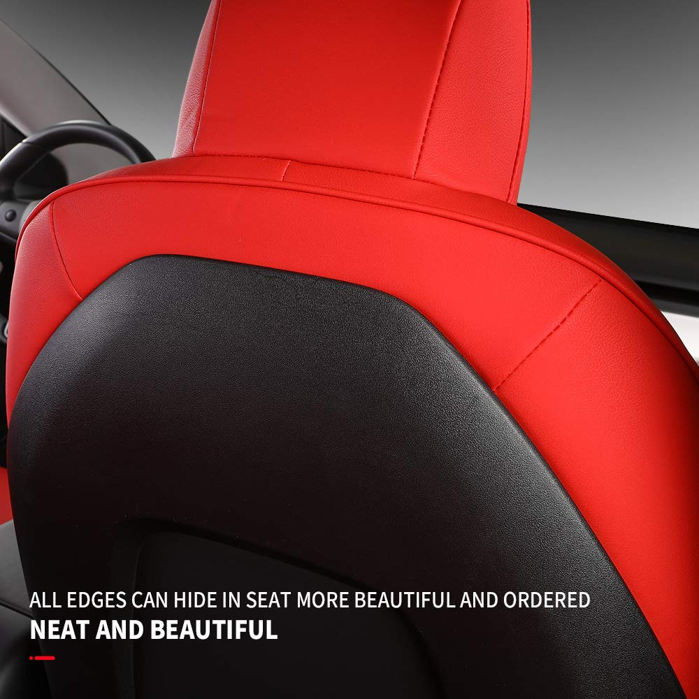 Tesla Model 3 Leather Seat Covers