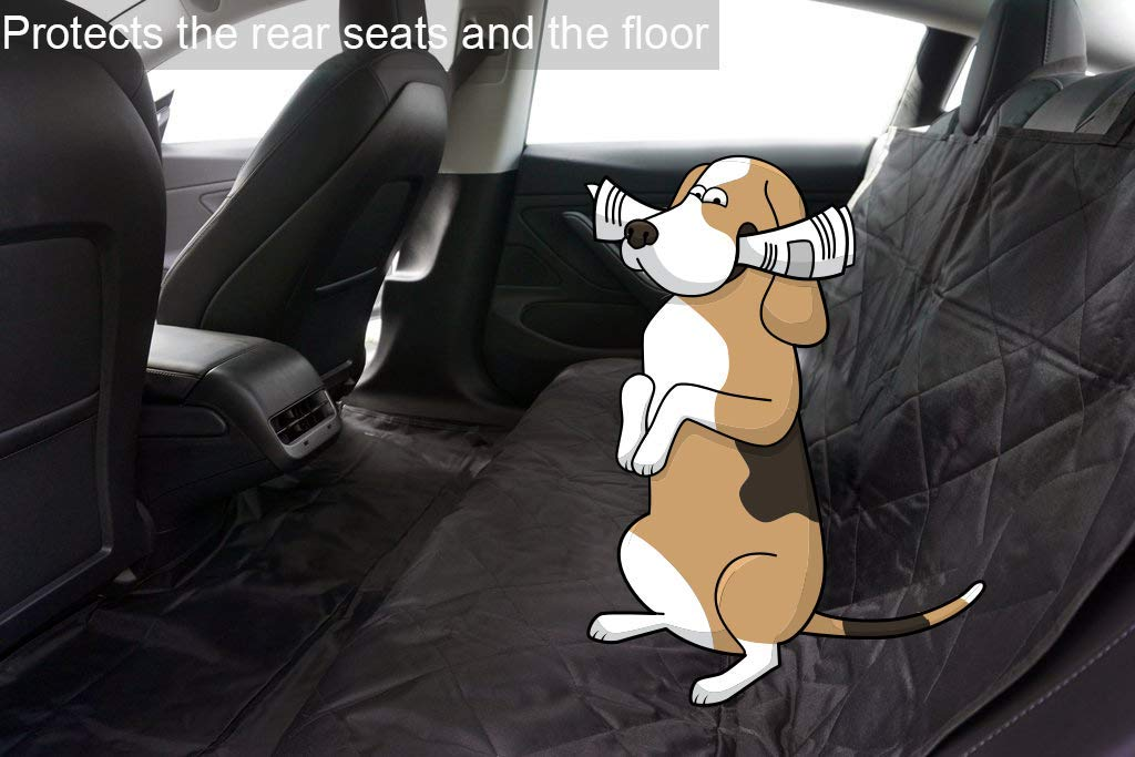 Tesla Model 3 Non-Slip Rear Seat Pet Cover
