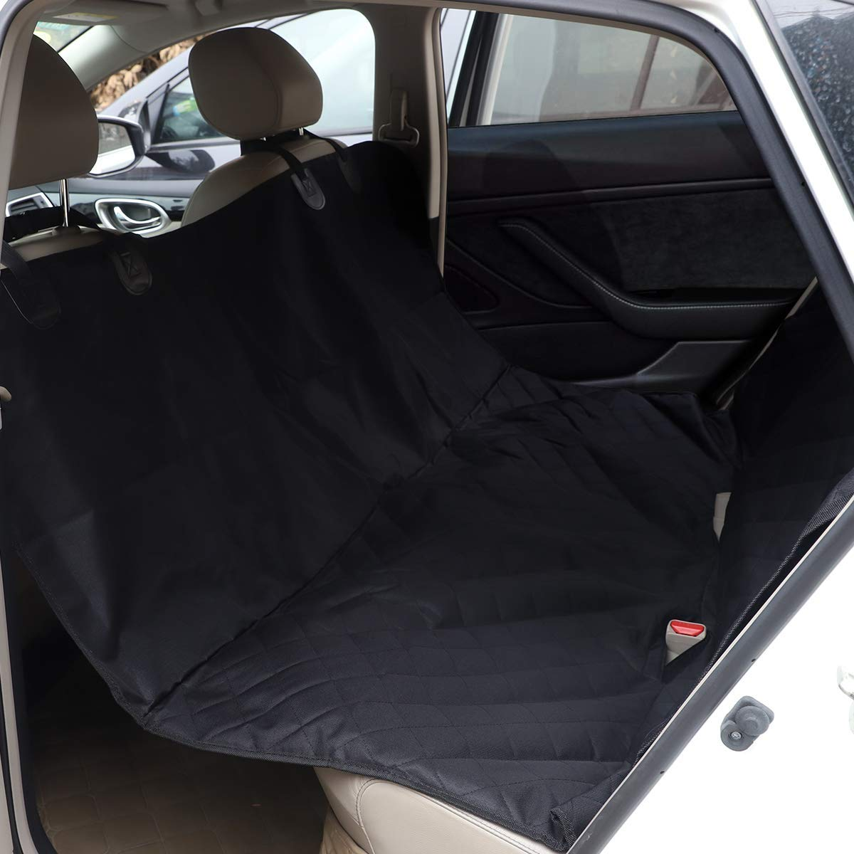 Tesla Model 3 & Y Non-Slip Rear Seat Pet Cover