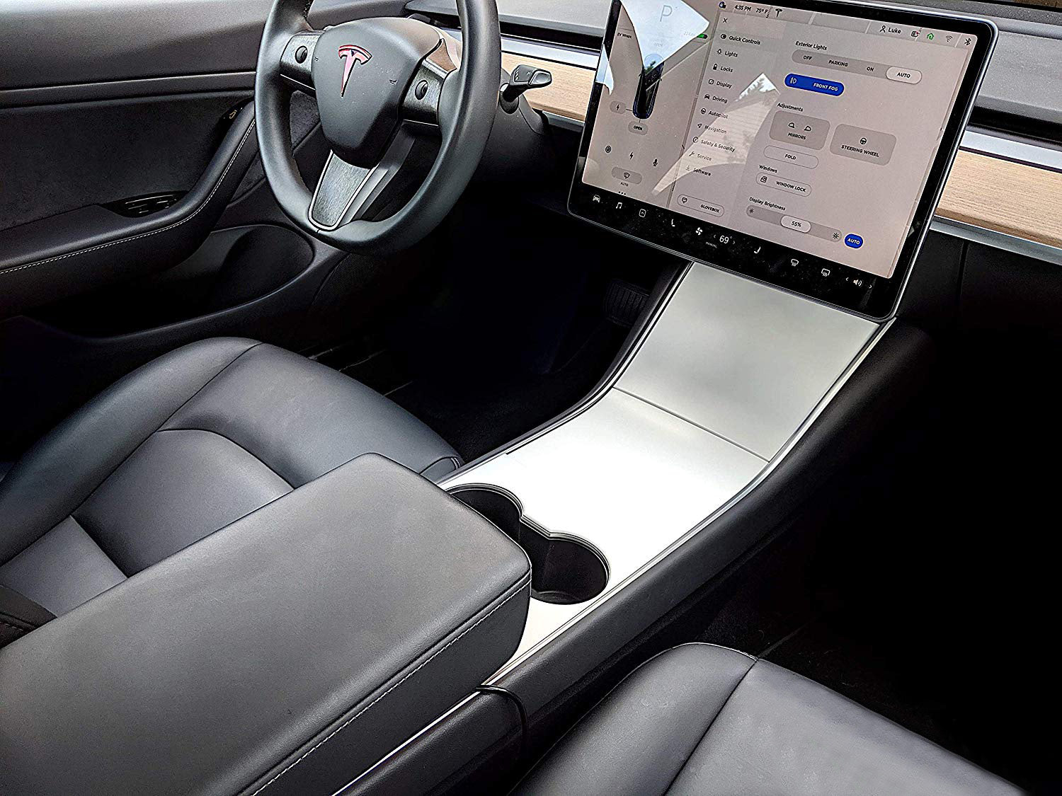 Tesla Model 3 & Y Center Console Wrap