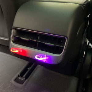 Tesla Model 3 USB Ambient LED Colored Backseat Lighting (2 PCS)