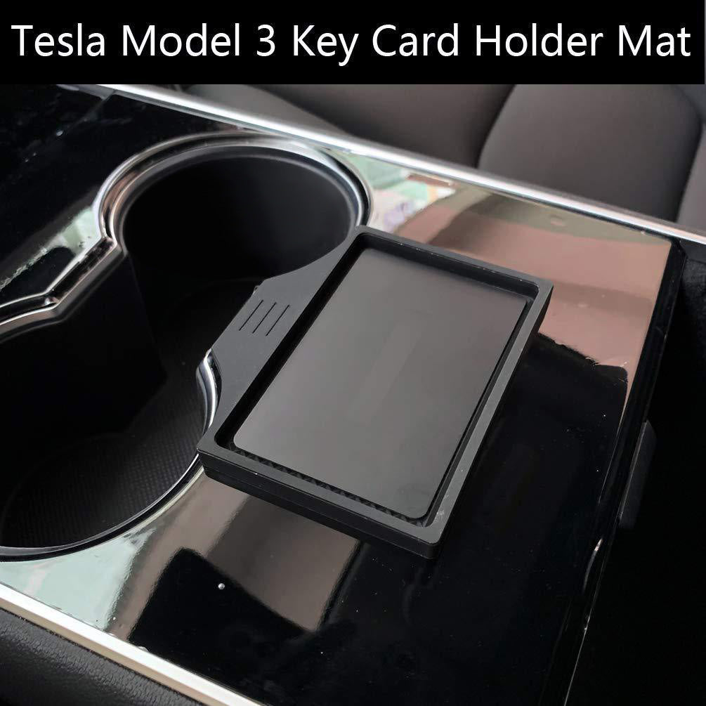 Tesla Model 3 Center Console Anti-Slip Key Card Holder