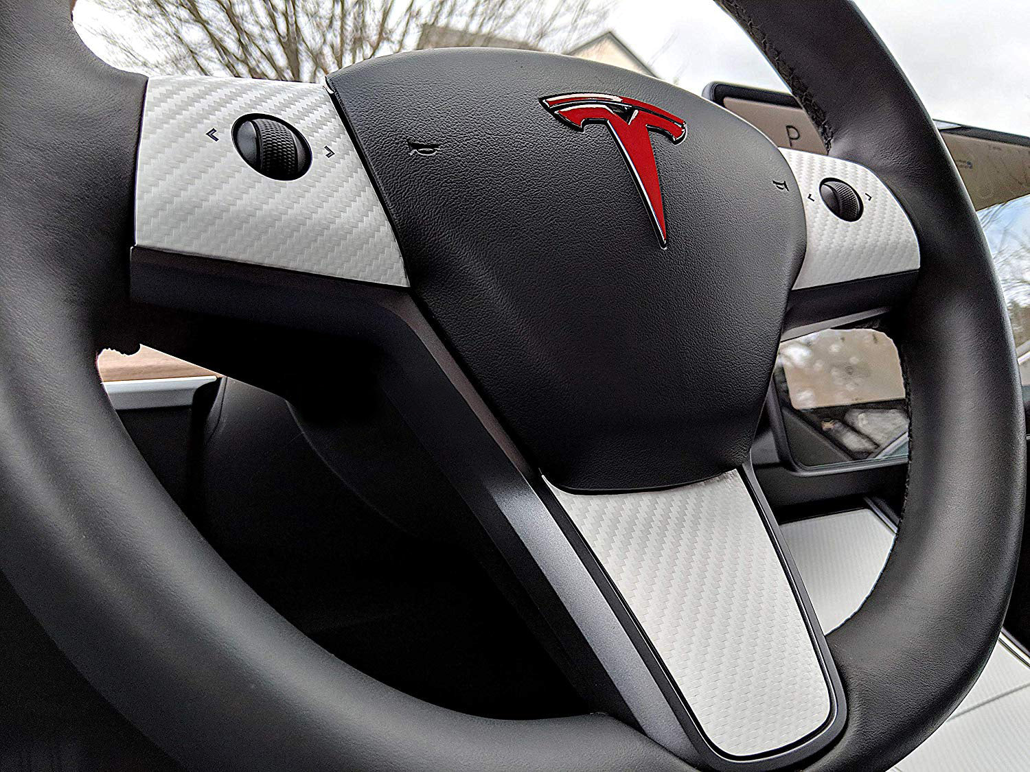 Tesla Model 3 & Y Steering Wheel Wrap