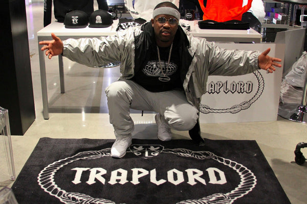 Traplord NYC POP UP, Interview with VIBE Magazine