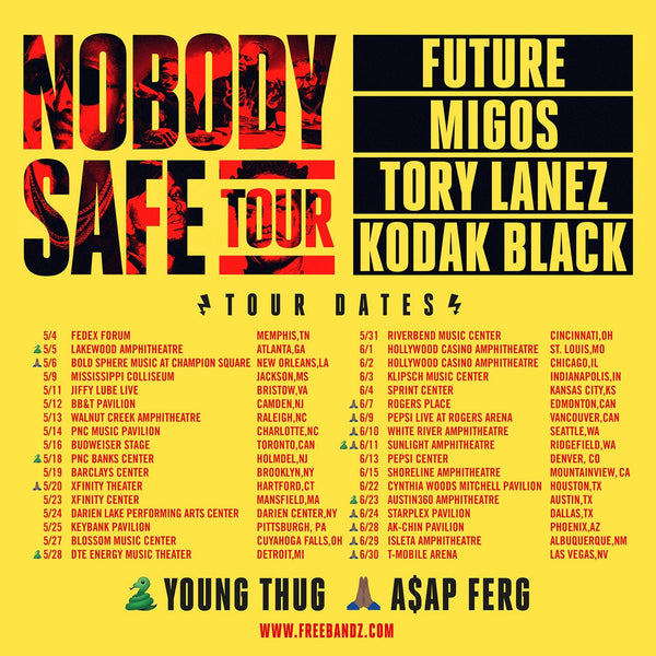 ASAP Ferg Joins Future on the Nobody Safe Tour