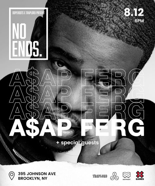 Party With ASAP Ferg at No Ends NYC