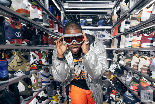 ASAP Ferg Goes Sneaker Shopping with Complex in NYC