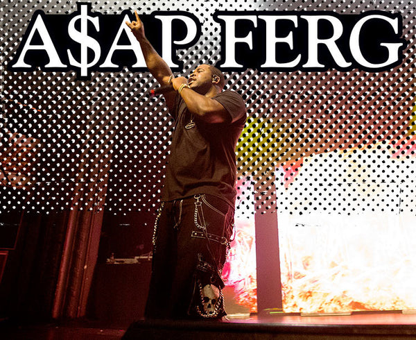 ASAP Ferg Featured In Trasher Magazine
