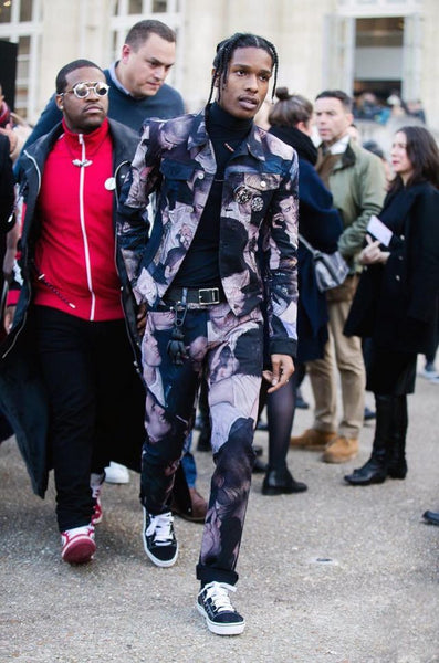 ASAP Rocky and ASAP Ferg Dior Fashion Week show in Paris