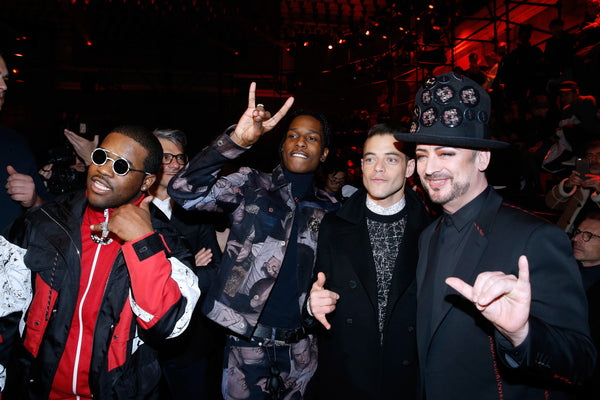ASAP Ferg Dior Paris Fashion Weel