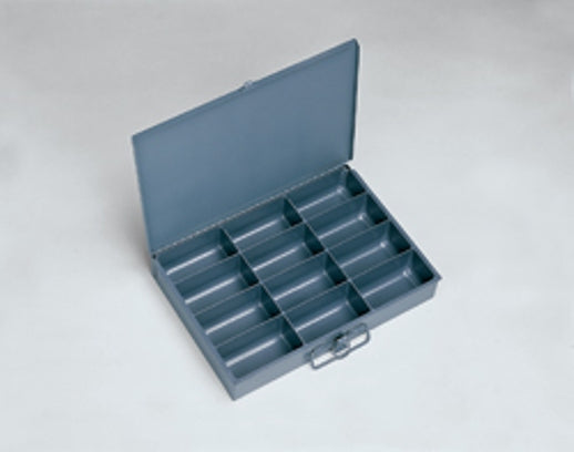 Cotter Pin 12 Hole Assortment Zinc Plated In Locking Metal Tray