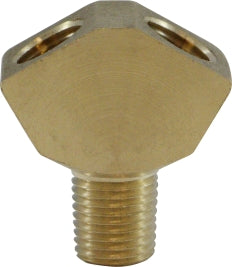 "1/4"" Brass Pipe WYE QTY 2"