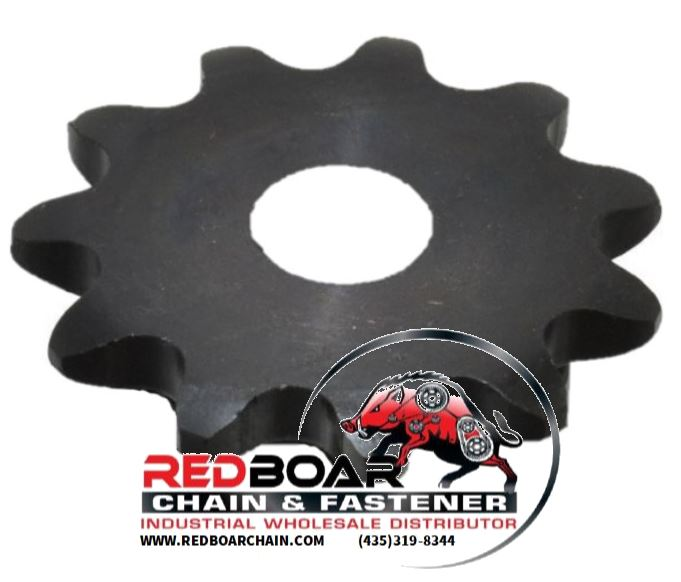 "35A11H-SB Type A Plate Sprocket 3/8"" Stock Bore No Keyway"