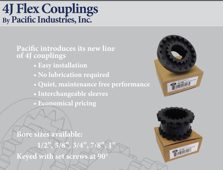 4J FLEX COUPLING HALF BODY