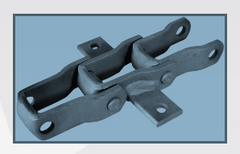 88C-K1S-5 Pintle Chain w/k1S Attachments every 5th Link, QTY 10FT for live floor truck trailers.