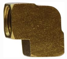 100A  90° Brass Pipe Female Elbow (Qty 2)