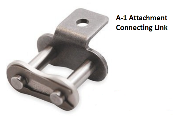 #40-A1-C/L Attachment Connecting Link for #40 Roller Chain