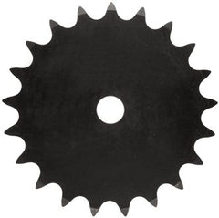 "40A40H-23/32"" TYPE A PLATE SPROCKET 40 TEETH FOR #40 ROLLER CHAIN"