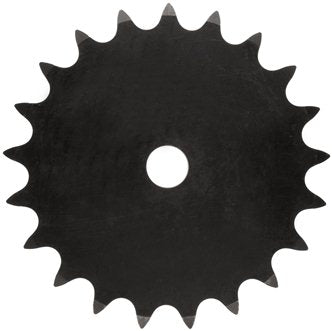 35A42H- TYPE A PLATE SPROCKET 42 TEETH FOR #35 ROLLER CHAIN
