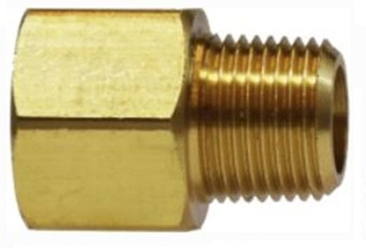 120A-Brass Pipe Fitting Extended Adapter (QTY 5)
