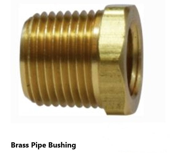 110-A Brass Pipe Fitting Hex Bushing (QTY 10)