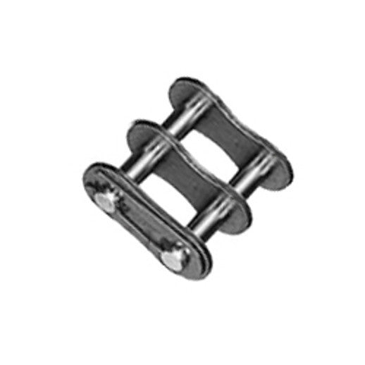 #60-2 Duplex Chain Connecting Link Qty 10 or 25 packs
