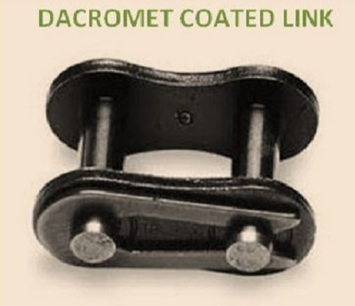 #80 DACROMET COATED  CONNECTING LINK (QTY 5 per pack) for Dacromet  roller chain