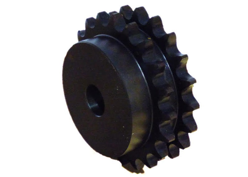 Duplex Sprocket D40B24H-SB Heat treated Type B for #40 Duplex roller chain 24 tooth