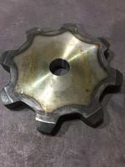 "88A7-1""  7 Tooth A Plate Sprocket  2.609"" Pitch- FREE SHIPPING 2.609"" Pitch"