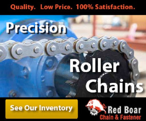 #50SS Stainless Roller Chain 10FT W/ One Connecting Link Per 10FT