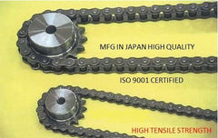 #100H-1R HEAVY OCM JAPANESE ROLLER CHAIN FOR LONG LIFE