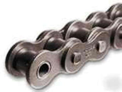 #25 ROLLER CHAIN - 10FT NEW FROM FACTORY W/FREE CONNECTING LINK
